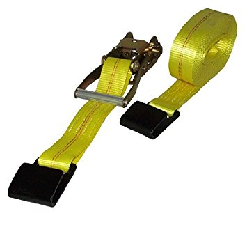 2″ x 30′ Ratchet Strap with Flat Hook