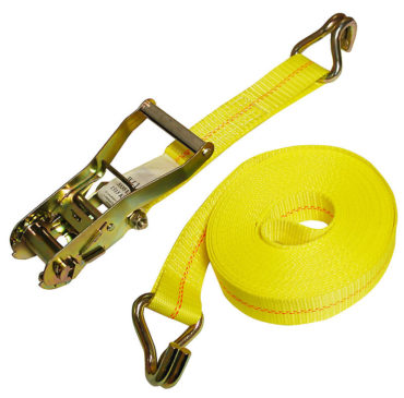 2″ x 30′ Ratchet Strap with Wire Hook