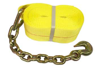 Chainend with Strap sold by Kaplan Tarps & Cargo Controls