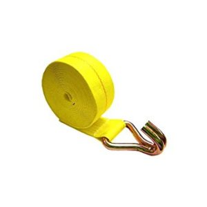 Winch strap with wire hook sold by Kaplan Tarps & Cargo Controls