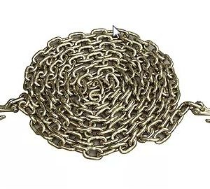 """5/16"""" x 25' Chain with Clevis Hooks G70 4700#"""