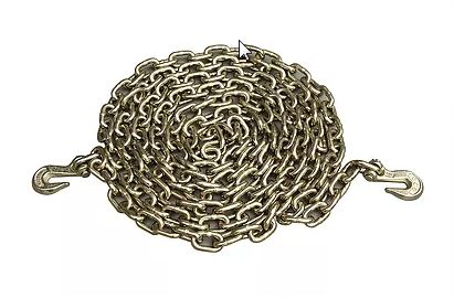 "5/16"" x 25' Chain with Clevis Hooks G70 4700#"