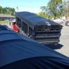 Roll of container tarps sold by Kaplan Tarps & Cargo Controls