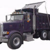 Dump truck tarp systems sold by Kaplan Tarps & Cargo Controls