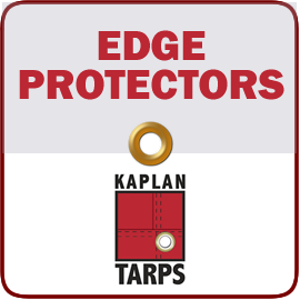 Kaplan Tarps & Cargo Controls dumpster edge protectors Kaplan Tarps & Cargo Controls