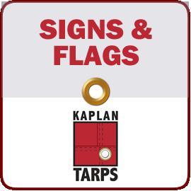 Kaplan Tarps & Cargo Controls Signs & Flags for trucks