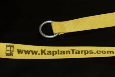 Roll Tarp Strap with O Ring